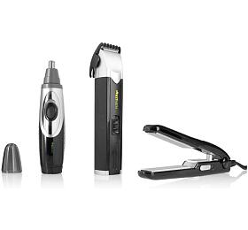 Labor Pro KITMEN SET na vlasy zastřihovač, kontura, mini žehlička - Labor Pro