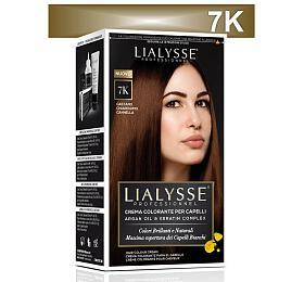 Lialysse Barva SET s arganem a keratinem 7K blond skořice - Lialysse