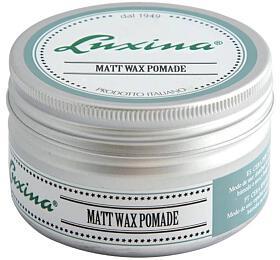 Luxina MATT WAX POMADE vosk extra silný, matný efekt 100ml - Luxina