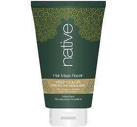 Maska na vlasy Native hloubkově obnovující s arganovým olejem a keratinem, 250 ml - Native