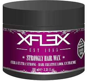 Xflex STRONGLY Modelovací Vosk extra silný s leskem s výtažky z borůvek 100ml - Xflex