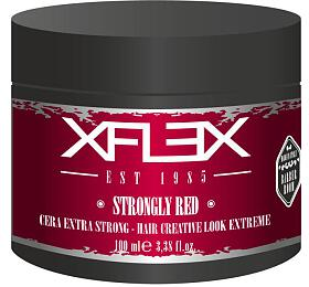 Xflex STRONGLY RED Modelovací Vosk extra silný s leskem s výtažky BIO hroznů 100ml - Xflex
