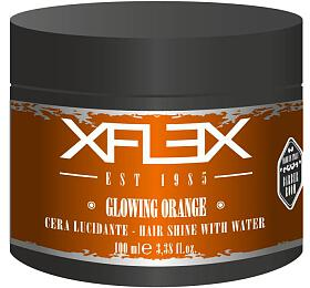 Xflex GLOWING ORANGE Modelovací vosk s extra leskem s papájou 100ml - Xflex