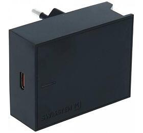 SWISSTEN SÍŤOVÝ ADAPTÉR PD 20W FOR IPHONE 12 ČERNÝ (22050500) - Swissten