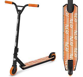 Spokey HASBRO STRIKE Koloběžka freestyle, kolečka 100 mm, zn. NERF, černo-oranžová - Spokey