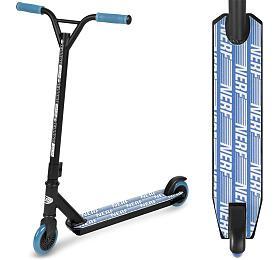 Spokey HASBRO STRIKE Koloběžka freestyle, kolečka 100 mm, zn. NERF, černo-modrá - Spokey