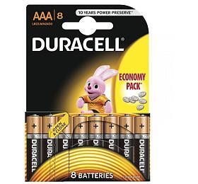 Alkalická baterie Duracell Basic AAA 2400 8ks - DURACELL