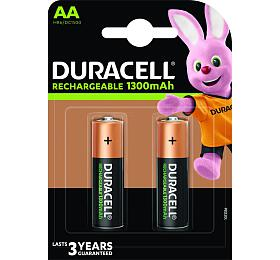 Nabíjecí baterie Duracell Rechargeable PreCharged AA 1300mAh 2ks - DURACELL