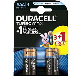 Alkalická baterie Duracell Turbo MAX AAA 2400 3+1ks - DURACELL