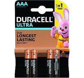 Alkalická baterie Duracell Ultra AAA 2400 3+1ks - DURACELL