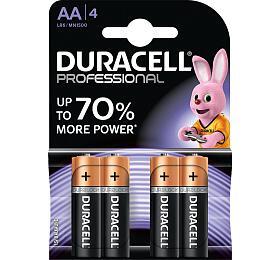 Alkalická baterie Duracell Professional AA 1500 4ks - DURACELL