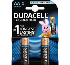 Alkalická baterie Duracell Turbo Max AA 1500 2ks - DURACELL