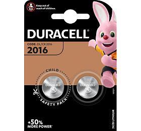Lithiová baterie Duracell Lithium 2016 2ks - DURACELL
