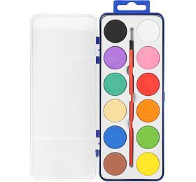 WaterColours vodové barvy 12barev/sada - EASY