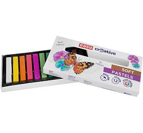 Suché pastely - 12 barev - EASY