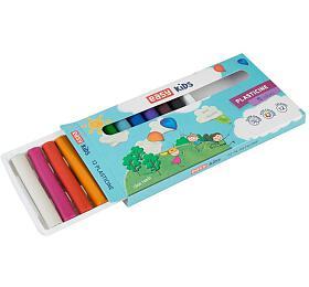 EasyCreative plastelína 12 barev/sada,192g - EASY