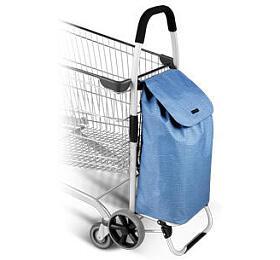 Nákupní taška na kolečkách Tescoma SHOP!, modrá - Tescoma