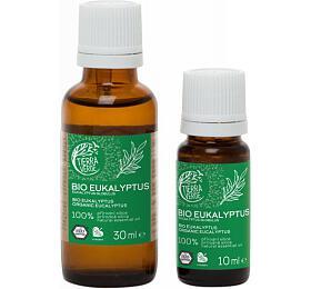 Tierra Verde Esenciální olej Eukalyptus BIO (30 ml) - uleví při nachlazení - Tierra Verde