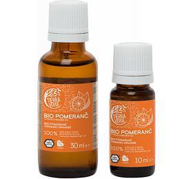 Tierra Verde Esenciální olej Pomeranč BIO (10 ml) - zlepšovač nálady - Tierra Verde