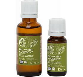 Tierra Verde Esenciální olej Vavřín Kubébový BIO (30 ml) - energizuje, čistí vzduch - Tierra Verde