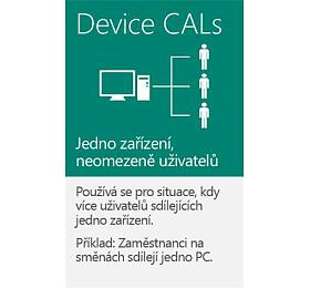 MS OEM Windows Server CAL 2019 CZ 1pk 5 Device CAL (R18-05827) - Microsoft