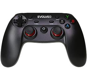 EVOLVEO Fighter F1, bezdrátový gamepad pro PC, PlayStation 3, Android box/smartphone (GFR-F1) - EVOLVEO