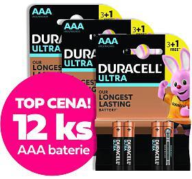 SET baterií DURACELL 12xAAA ULTRA PACK - DURACELL