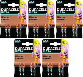 SET ULTRA Alkalická baterie Duracell Ultra AAA 20ks - DURACELL