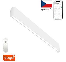 Smart nástěnné svítidlo Immax NEO LÍNEA 07137-W Zigbee 3.0 76cm 40W, bílé - IMMAX
