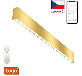 Smart nástěnné svítidlo Immax NEO LÍNEA 07137-G Zigbee 3.0 76cm 40W, zlaté - IMMAX