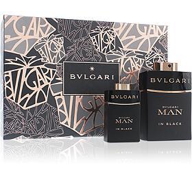 Bvlgari Man In Black parfémovaná voda Pro muže 60ml + parfémovaná voda 15ml - Bvlgari
