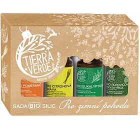 Tierra Verde Sada BIO silic - Pro zimní pohodu (4x10 ml) - Tierra Verde