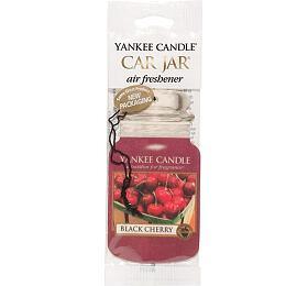 Yankee Candle Osvěžovač do auta Zralé třešně 1x papírová visačka - Yankee Candle
