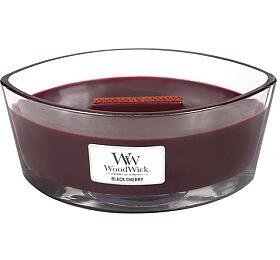 Vonná svíčka WoodWick Black Cherry 453 g - WoodWick