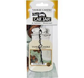 Yankee Candle Osvěžovač do auta Shea butter 1x papírová visačka - Yankee Candle