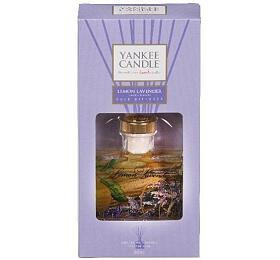Yankee Candle Lemon Lavender interiérové vůně 88 ml vonná stébla - Yankee Candle
