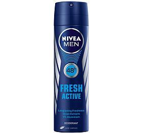 Nivea Men Fresh Active Anti-perspirant Deodorant deodorant ve spreji 150 ml Pro muže - Nivea