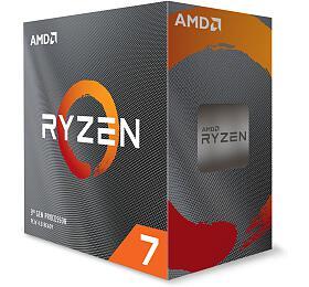AMD cpu Ryzen 7 3800XT Box AM4 (8core, 16x vlákno, 3.9GHz / 4.7GHz, 32MB cache, 105W), bez chladiče (100-100000279WOF) - AMD