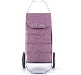 Rolser Com Tweed Polar 8 taška na kolečkách, fialová - ROLSER S.A.