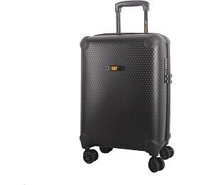 HAMA CAT cestovní kufr HEXAGON, 73 l, černý, materiál polypropylen - Hama