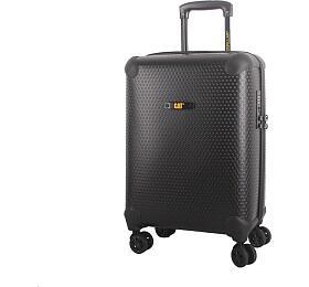 CAT cestovní kufr HEXAGON, 37 l, černý, materiál polypropylen, kabinové zavazadlo - CAT