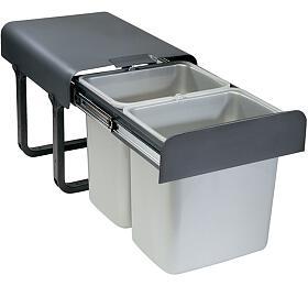 Odpadkový koš Sinks EKKO 40 2x16l - Sinks