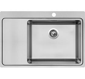 Sinks BLOCKER 780 V 1mm kartáčovaný pravý - Sinks