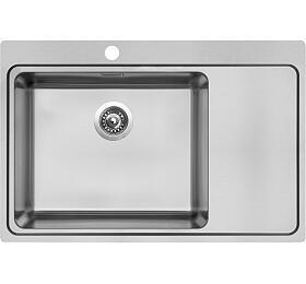 Sinks BLOCKER 780 V 1mm kartáčovaný levý - Sinks