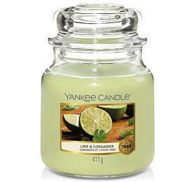 Yankee Candle vonná svíčka Lime & Coriander 411g - Yankee Candle