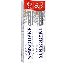 Sensodyne Extra Whitening zubní pasta s bělícím účinkem pro citlivé zuby 2x75 ml - Sensodyne
