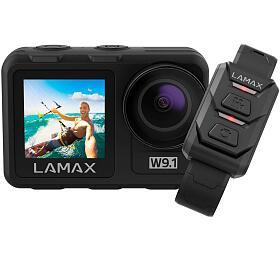 Outdoorová kamera LAMAX W9.1 + dárek náhradní baterie a selfie tyč ! - Lamax
