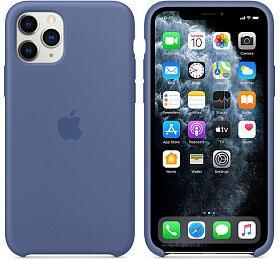 Apple silikonový kryt iPhone 11 Pro sepraně modrý - Apple