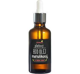 Vivaco Bio Pleťový meruňkový olej s pipetou 50 ml - Vivaco