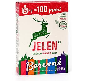 Prací prostředek Jelen mýdlový prášek Color 5 kg BOX - Jelen
